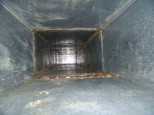 清洗大型油烟管道